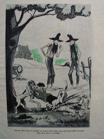Cartoon By P Webb Cousin Tige 1947