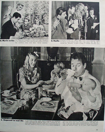 Breakfast With Blondie 1945