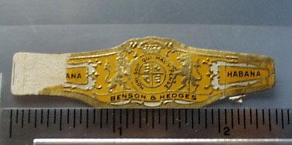 Benson & Hedges Habana Cigar Band