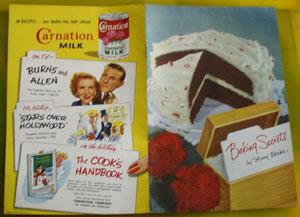 Baking Secrets Cookbook by Mary Blake 1953
