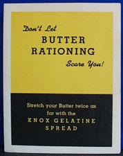 Dont Let Butter Rationing Scare You Cookbook 1942