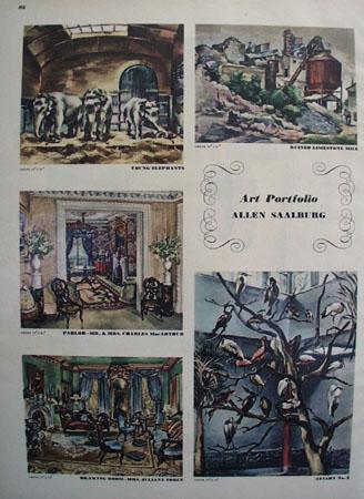 Art Portfolio Allen Saalburg Pictures 1947