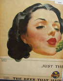 Schlitz Kiss of the Hops 1946 Ad