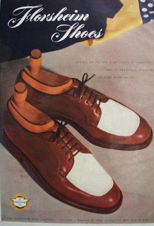 Florsheim Shoes American Standard 1948 Ad
