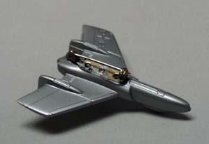 Plastic mini airplane jewelry pin