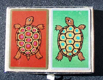 Congress Turtle Playing Cards