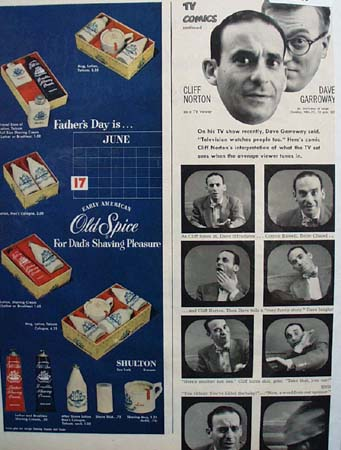 Shulton Old Spice Gift Boxes 1951 Ad