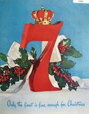 Seagrams Seven Crown Whiskey 1951 Ad