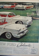 New Ford Galaxie 1958 Ad