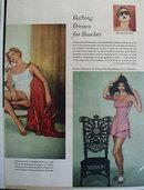 Jantzen Swim Suits Flaming Colors Ad 1951