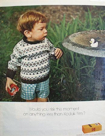 Kodak Film Moment 1972 Ad