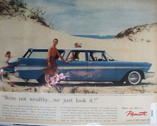 Plymouth 3 Full Years Ahead 1957 Ad