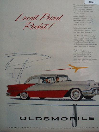 Oldsmobile Rocket 88 1956 Ad