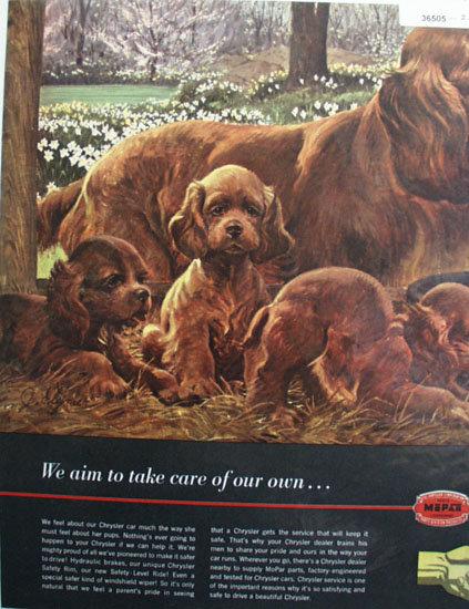 Mopar Parts Chrysler Service 1948 Ad