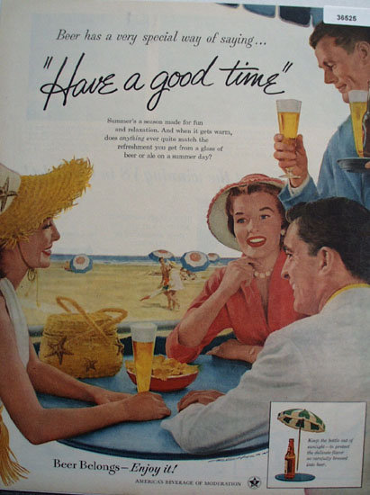 United States Brewers Foundation 1956 Ad