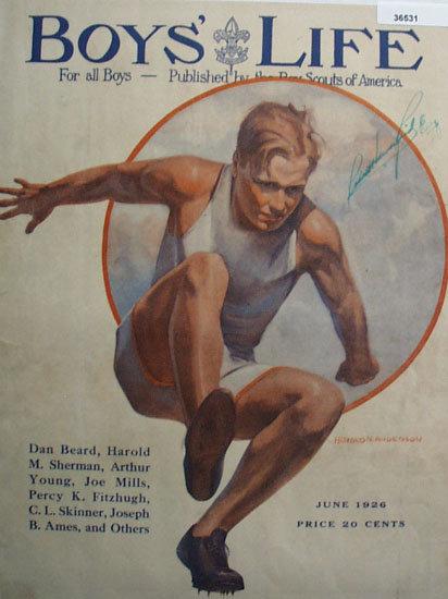 Boys Life Magazine Cover 1926