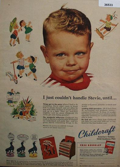 Childcraft Child Guidance Plan 1953 Ad