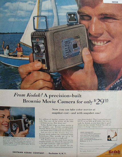 Eastman Kodak Co. 1957 Ad