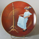 Norman Rockwell Collector Plate Almost Grown Up