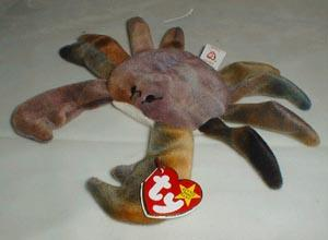 TY Beanie Baby, Claude Crab