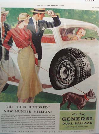 General Tire Blow-Out Proof Ad 1933