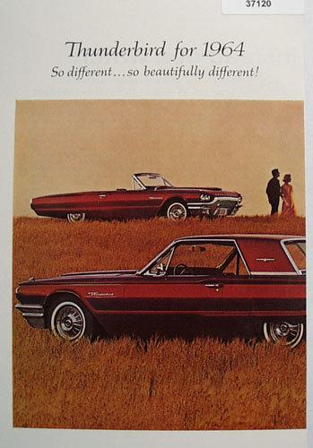 Thunderbird by Ford Car 1963 Ad