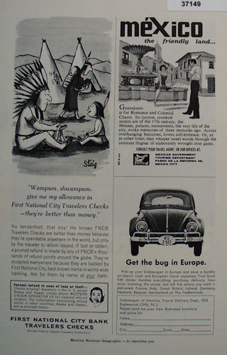 Volkswagen of America, Tourist Delivery  1963 Ad