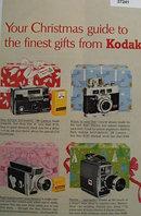 Kodak Christmas Gifts 1963 Ad