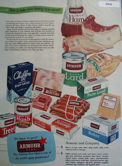 Armour Star Meats 1952 Ad