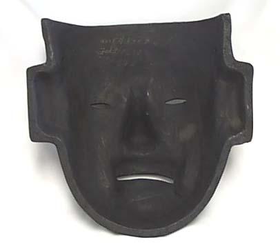 Black Face mask by Donarosa, unusual