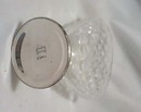 Hawkes silver & cut crystal toothpick