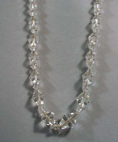 Clear Glass Necklace