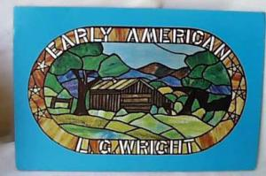 L. G. Wright, Early American Dealer Sign