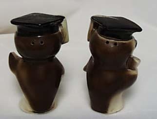 Graduating Owls Salt & Pepper Shakers