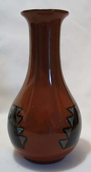 M Fleury South Dakota Indian Pottery Vase