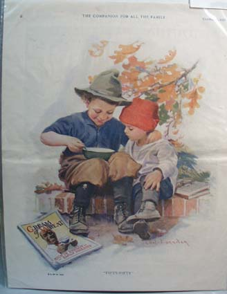 1923 Cream of Wheat Ad