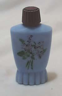Blue Delphite lilac perfume bottle H P