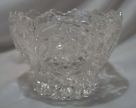 Lead Crystal Bowl, Double star & whirlwind