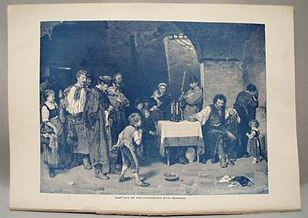 1888 Last Day Of The Condemned Man Litho