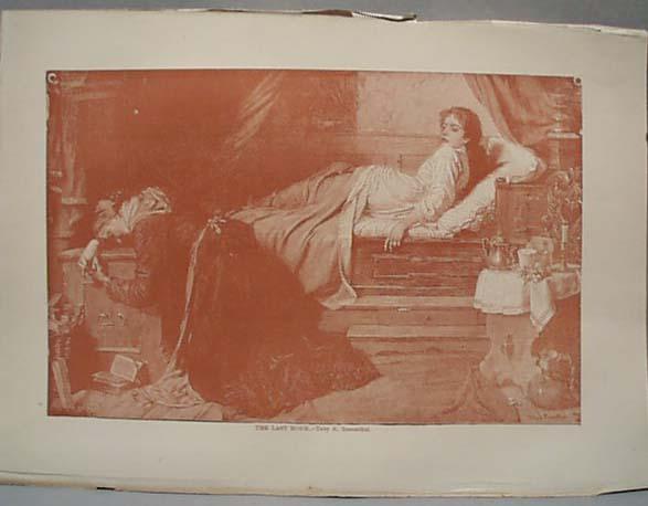 1888 Litho The Last Hour