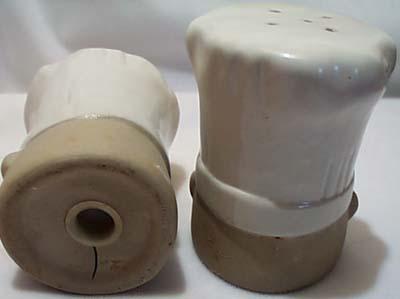 Rangetop Chef Stoneware S&P Shakers