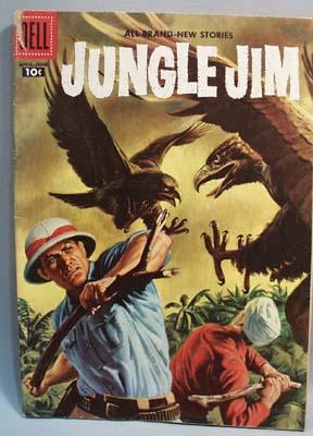 Dell 10 cent Jungle Jim Vol 1 #12 Tiger Track