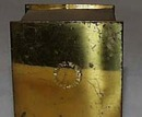 Inkwell or ashtray, Allentown PA souvenir box