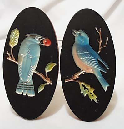 Miller Studio 1964 Bird  Plaster Plaques