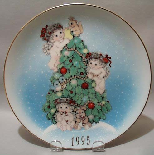 1995 ltd Edition Christmas Dreamsicles Plate