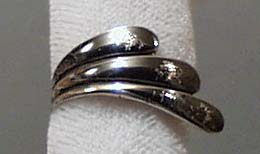 Sterling Silver Unique Ring