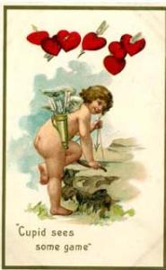 cupid valentine from 1911