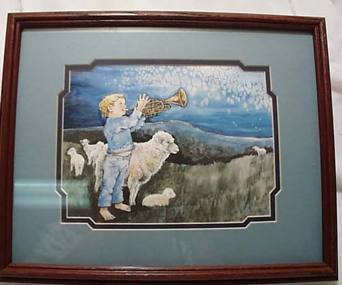 Nancy Balyeat Framed Watercolor print