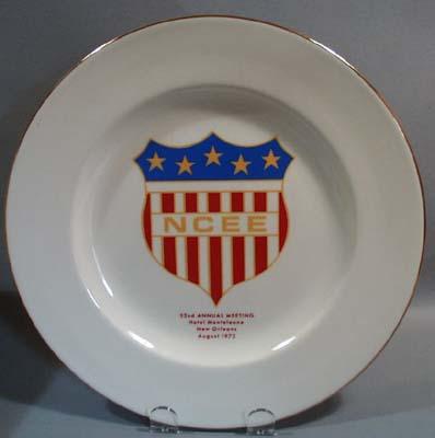 NCEE 52nd Meeting 1973 Souvineer Plate