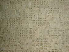 Hand Crocheted Box Patterned Runner